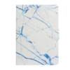 Pattern Printing Leather Stand Tablet Casing with Card Holder for iPad 10.2 (2020) (2019) - Blue Marble