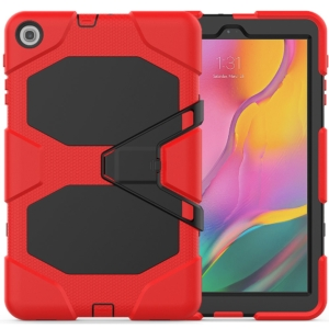 """Samsung Tab A 10.1"""" 2019 full cover heavy duty case red"""