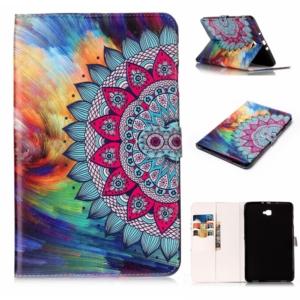 "Samsung Tab A6 10.1"" 2016 cover multi colour flower"