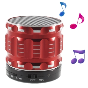 mini bluetooth speaker red
