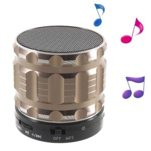 mini bluetooth speaker gold
