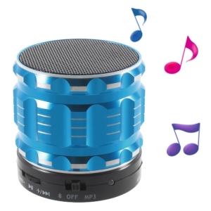 mini bluetooth speaker blue