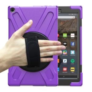 Heavy Duty Survivor Case for Kindle Fire HD 10 - Purple